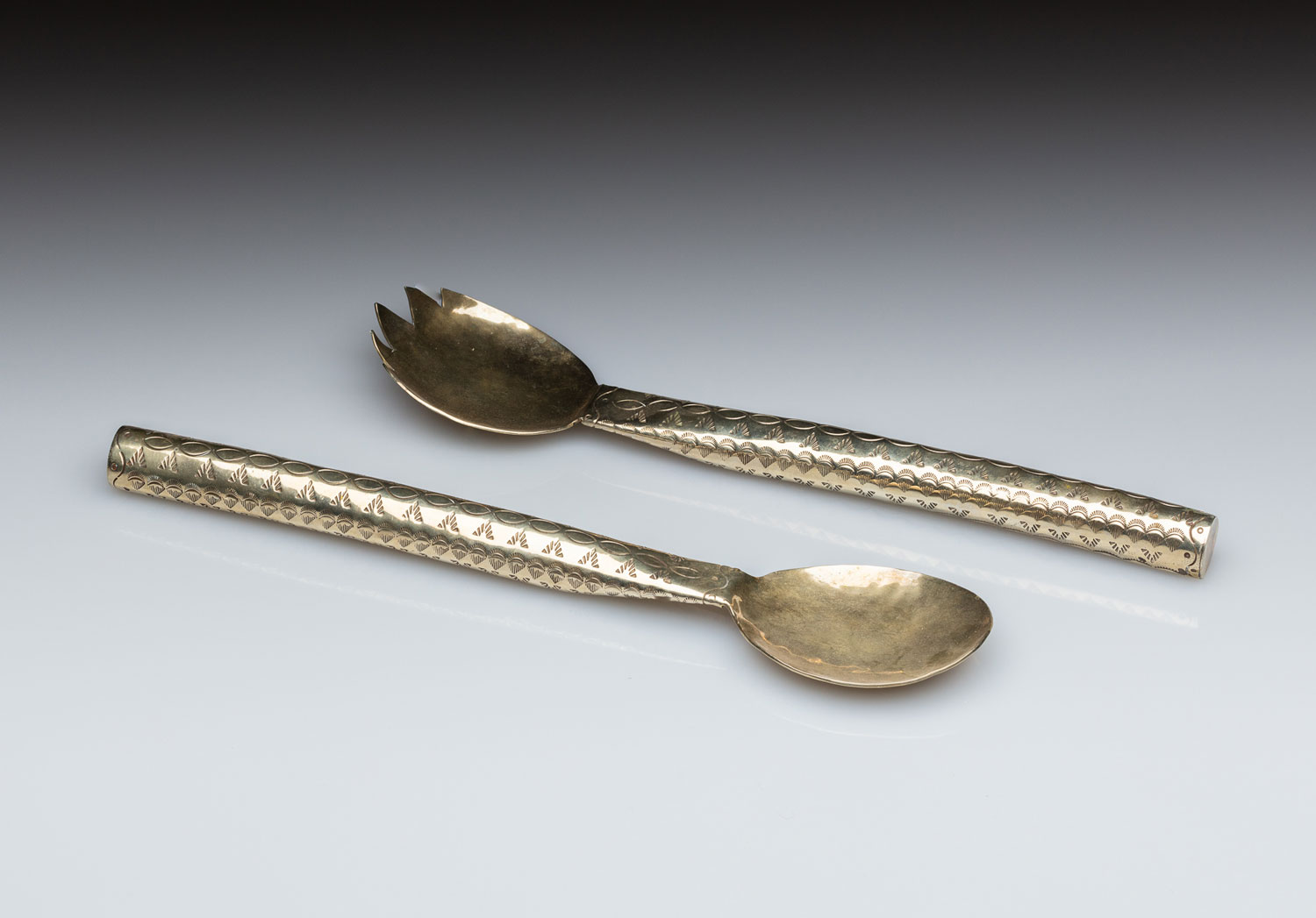 Native American silverware